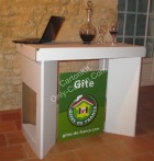 Table Standard en Carton - Stand 100 % Carton